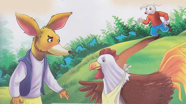 Cerita fabel Singkat Kisah Anjing, Ayam, dan Rubah